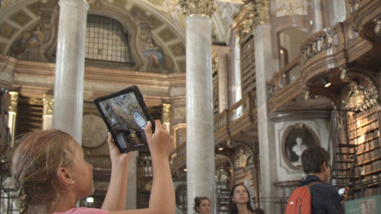 Bookworms, Austrian National Library, Vienna